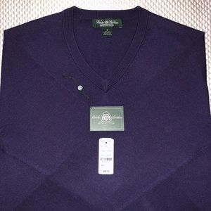 Brooks Brothers Country Club V-neck Sweater